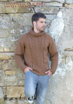 Hayfield Chunky with Wool - 7154 Jumper Knitting Pattern